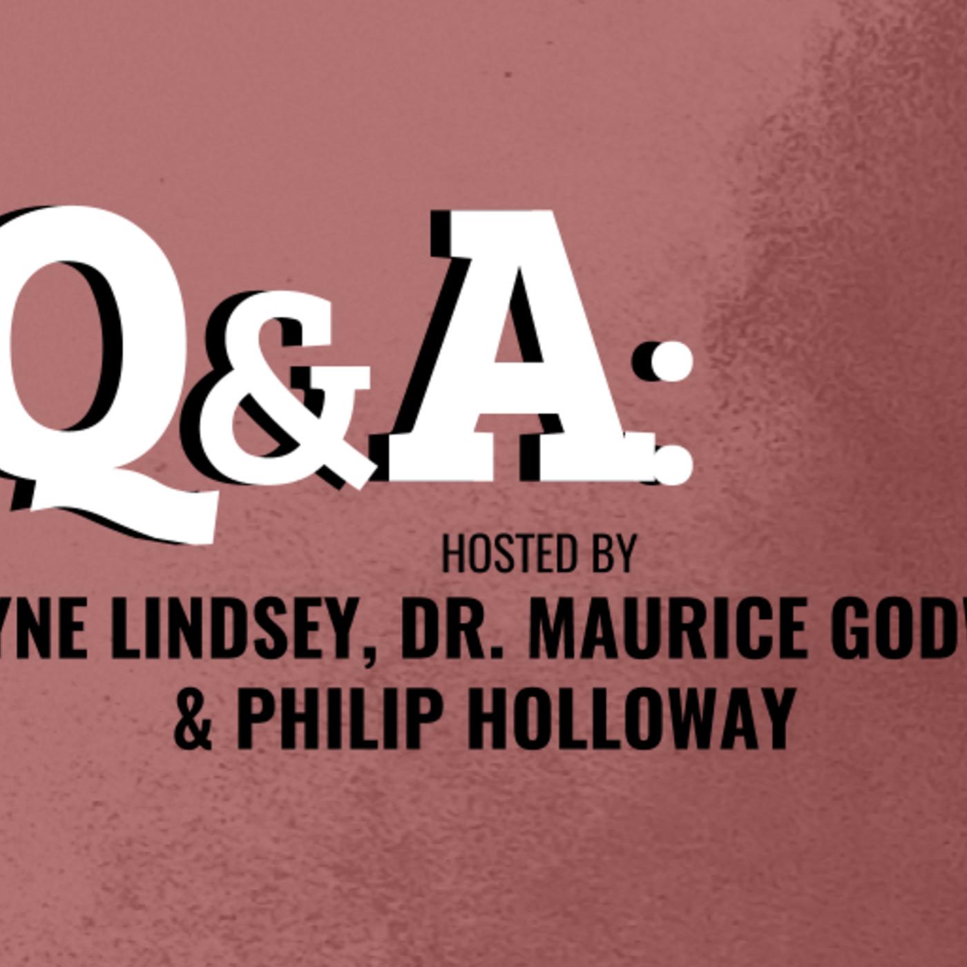 S1E : Q&A with Payne Lindsey, Dr. Maurice Godwin, & Philip Holloway 08.03.17