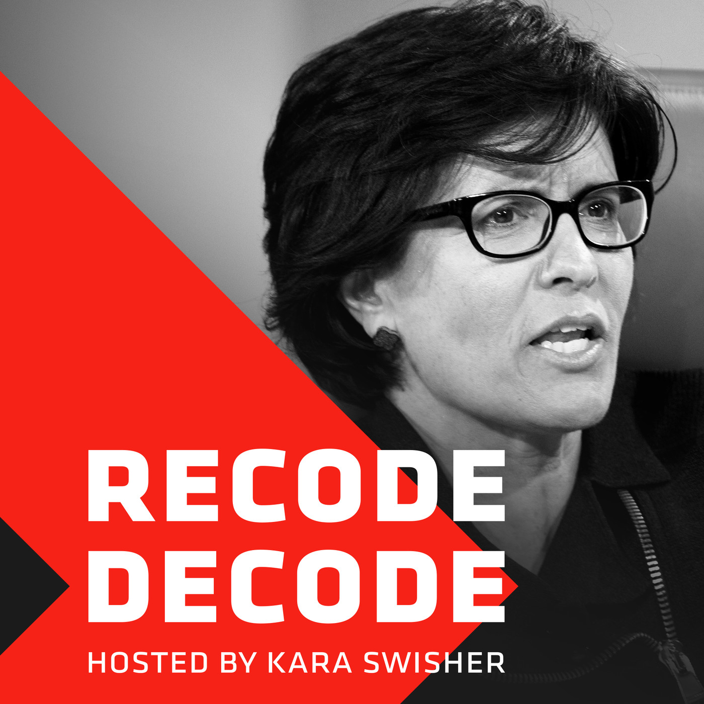 podcast thumbnail for 'Recode Decode, hosted by Kara Swisher'